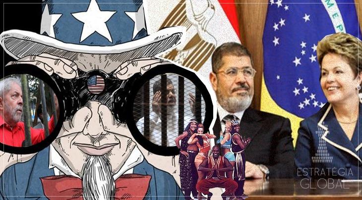 A MISTURA – POLÍTICA – DO BRASIL COM O EGITO NA MORTE DE MOSRI E NA PRISÃO DE LULA