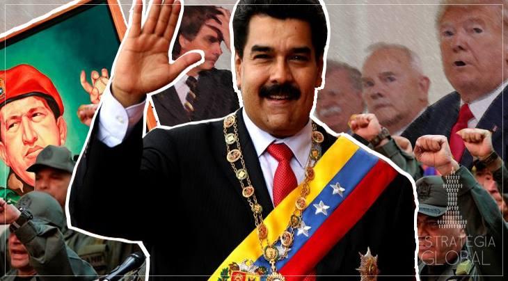 A VENEZUELA ISOLADA E A (NEM TÃO) NOVA POLÍTICA DE AGRESSÃO DOS EUA