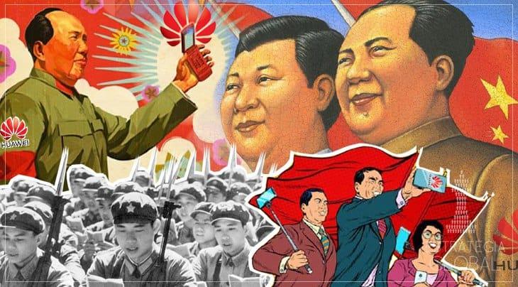 GUERRA COMERCIAL, CHINA E HUAWEI (OU O IMPÉRIO NORTE-AMERICANO DERROTADO PELO SOCIALISMO)