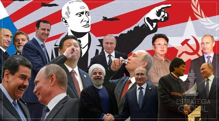 Putin e a Rússia são os maiores símbolos da luta anti-imperialista atual