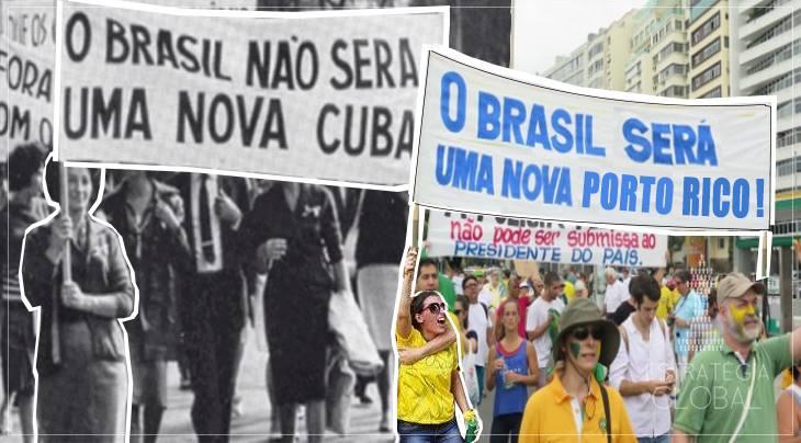 E O BRASIL NÃO VIROU CUBA, SE TORNOU UMA NOVA PORTO RICO