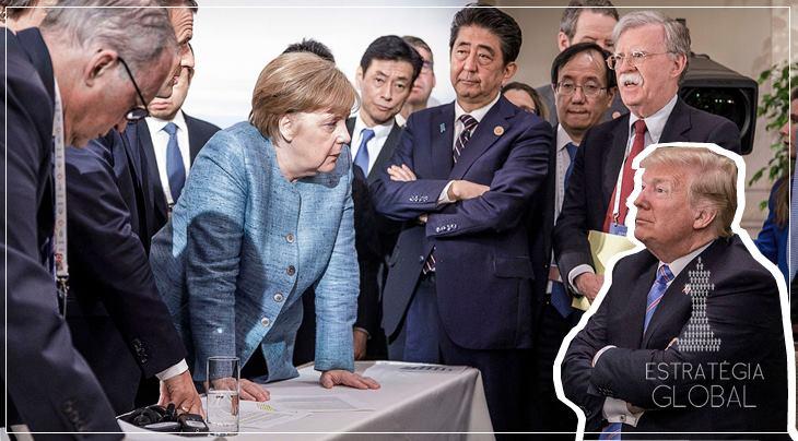 A IMAGEM DO G7 É A DA CRISE DO OCIDENTE