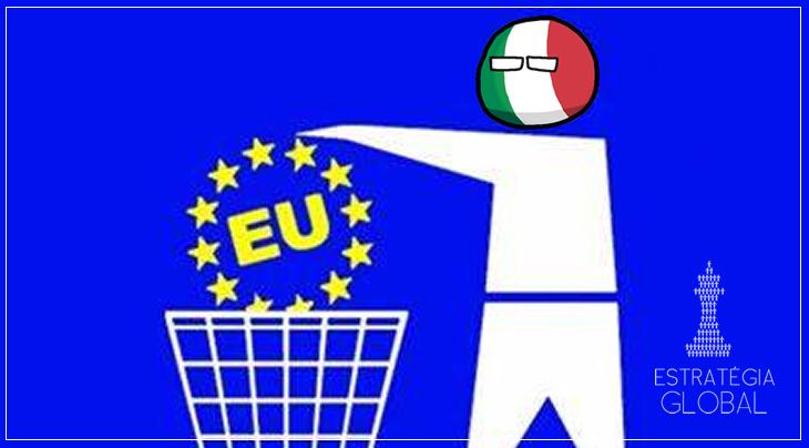 EUROPA, CIAO: ITÁLIA ENSAIA SAÍDA DO BLOCO EM CRISE
