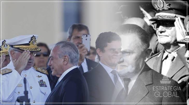 MILITARIZAÇÃO DA POLÍTICA BRASILEIRA: O GOLPE DENTRO DO GOLPE ?