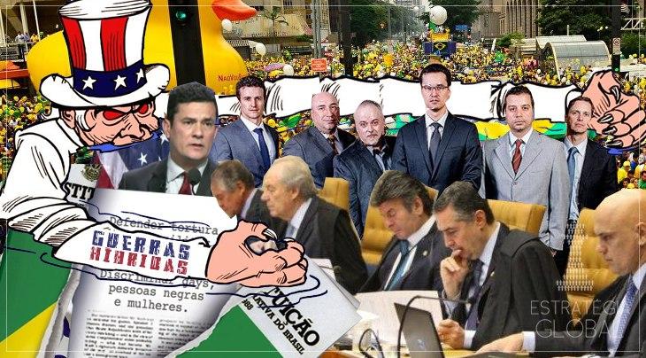 A DESTRUIÇÃO DA ORDEM CONSTITUCIONAL BRASILEIRA COMO TÁTICA DA GUERRA HÍBRIDA