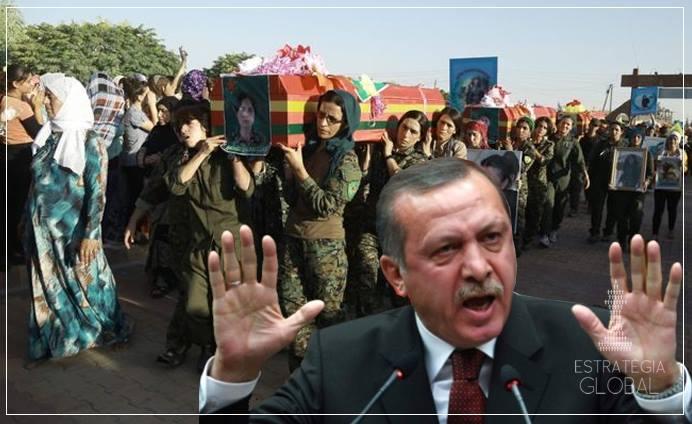 A TURQUIA INVADE A SÍRIA: CURDOS PAGAM O PREÇO POR CONFIAREM NOS EUA