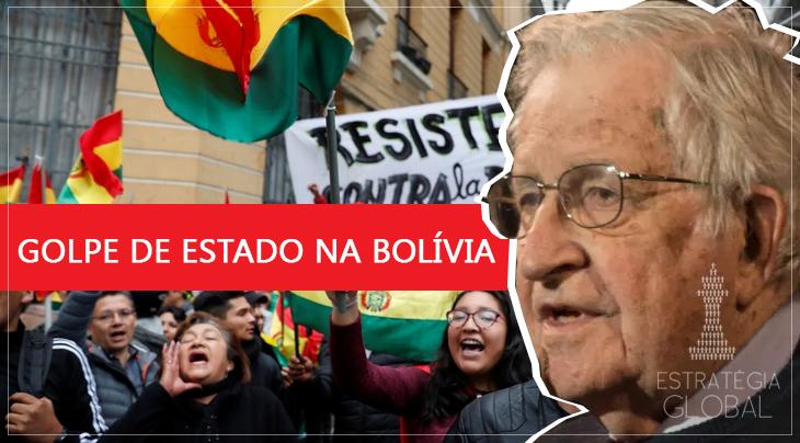 NOAM CHOMSKY E VIJAY PRASHAD DENUNCIAM O GOLPE DE ESTADO APOIADO PELOS EUA NA BOLÍVIA