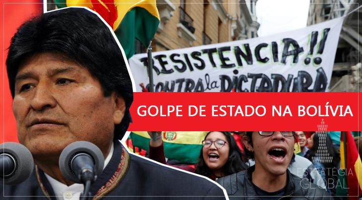 GUERRA HÍBRIDA NA BOLÍVIA: EVO MORALES RENUNCIA DIANTE UM GOLPE DE ESTADO NO PAÍS