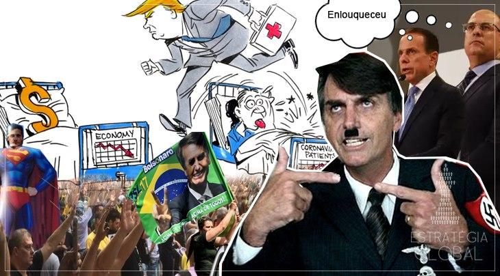 CONFUSÃO VIRULENTA – A TÁTICA BOLSONARISTA PARA FUGIR DA RESPONSABILIDADE PELA CRISE DO CORONAVÍRUS