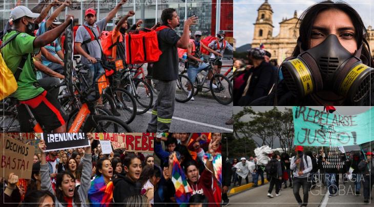 Os povos latino-americanos começam a se levantar
