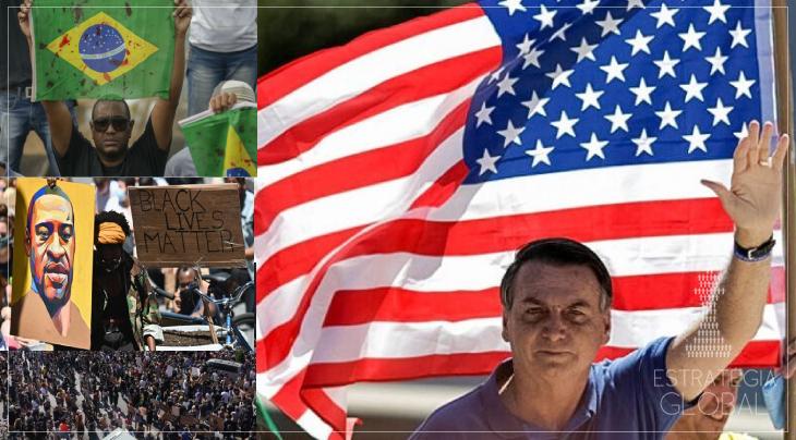 Para servir aos EUA, Bolsonaro barrará projeto contra racismo na ONU