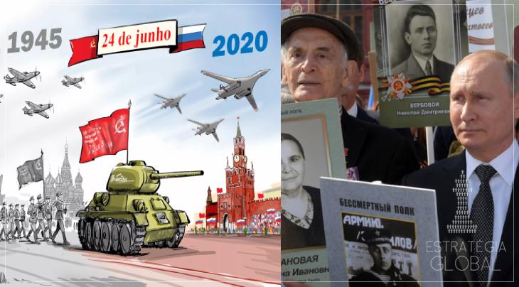 """Putin: """"75 anos da Grande Guerra pela Pátria: responsabilidade perante o passado e o futuro"""""""