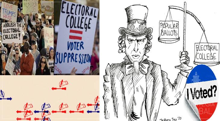 O Colégio Eleitoral dos EUA: protegendo os ricos da democracia desde 1787