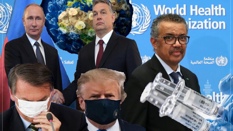 """A visão sombria da OMS sobre presidentes """"loucos"""" e o fim da pandemia"""