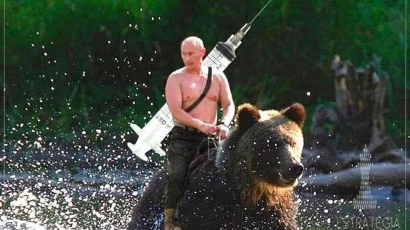 Covid-19: os russos defendem sua vacina