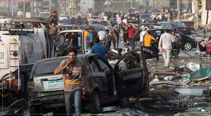 """""""Interferência externa"""", recolonização francesa, protestos, um resumo sobre a explosão em Beirute"""