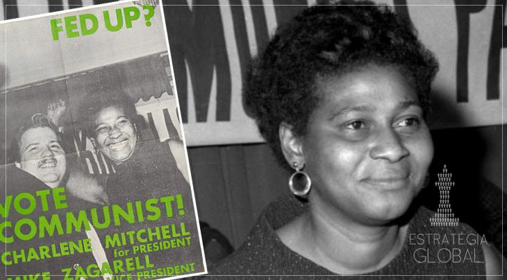 Charlene Mitchell: primeira mulher negra a concorrer à presidência dos EUA
