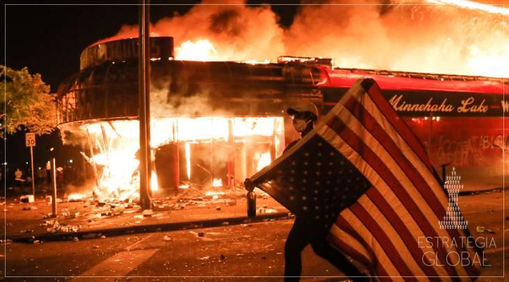 Os EUA à beira da guerra civil