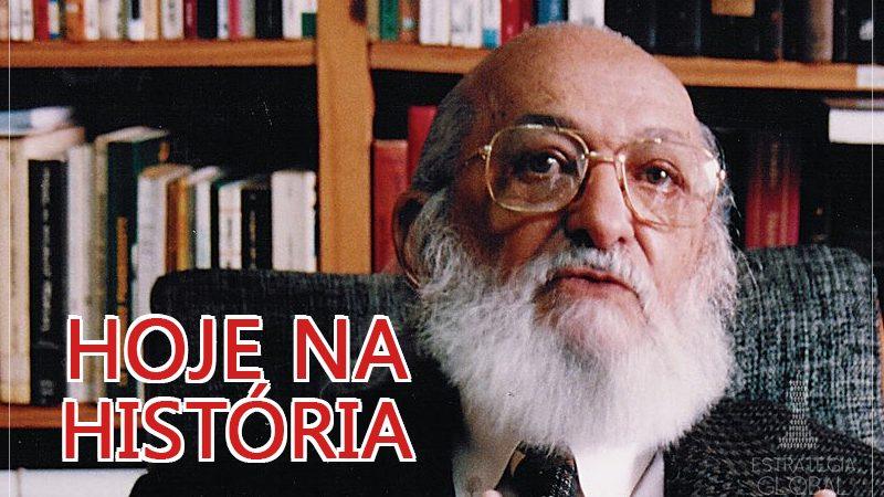 Hoje na história: nascia o professor dos oprimidos Paulo Freire!