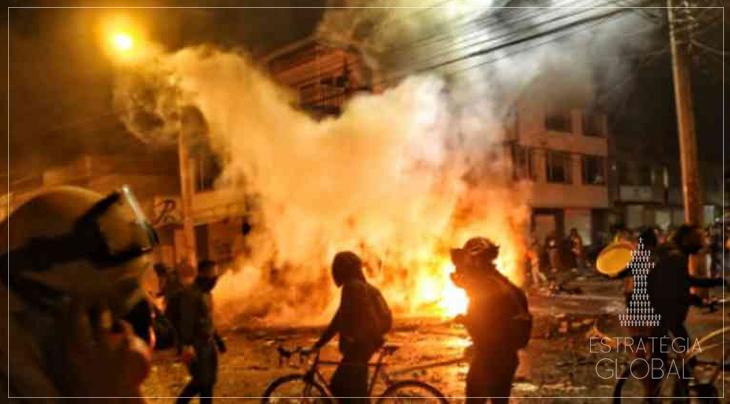 Bogotá: ao menos 10 mortes após protestos desencadeados pela morte de um advogado