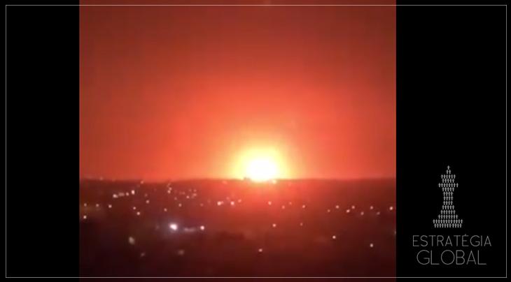 Gigantesca explosão sacode arredores da capital jordaniana