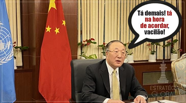 """'Já chega, é hora de acordar!"""" diz China aos EUA no Conselho de Segurança da ONU"""