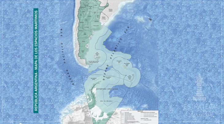 Argentina soberana: novo mapa bicontinental