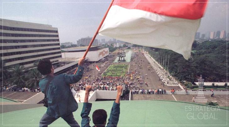Nova onda de protestos na Indonésia