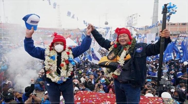 Luis Arce: Recuperamos a democracia e a esperança