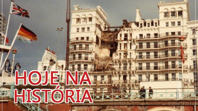Hoje na História: atentado do IRA contra Margaret Thatcher