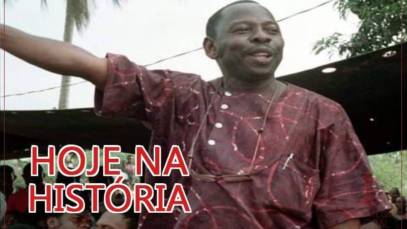 Hoje na história: mais um mártir da luta contra o imperialismo na Nigéria