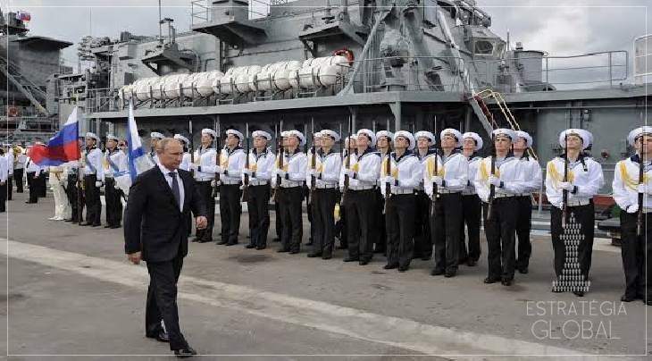 Rússia anuncia a construção de uma nova base naval no Sudão