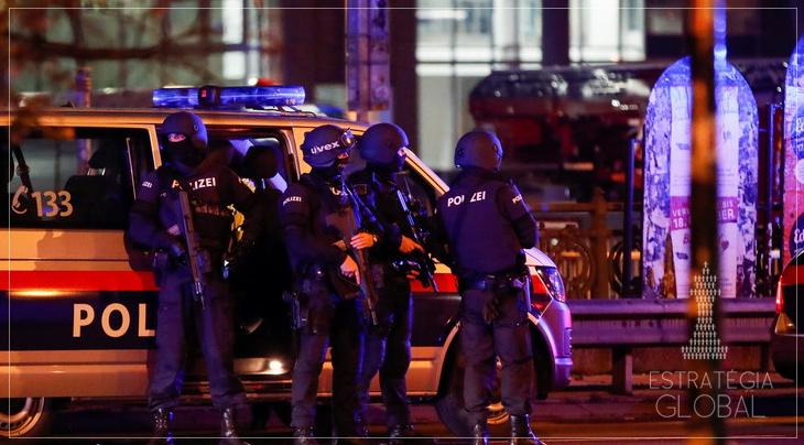 Terroristas abrem fogo em seis pontos de Viena: o que está acontecendo?