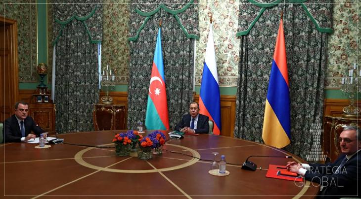 Rússia, Armênia e Azerbaijão assinam acordo de paz em Nagorno-Karabakh