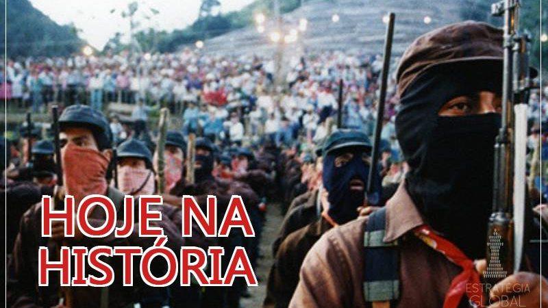 Hoje na História: o nascimento do Exército Zapatista de Libertação Nacional (EZLN)