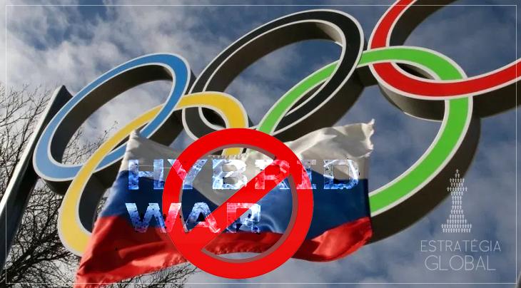 Guerra híbrida: Rússia banida das Olimpíadas