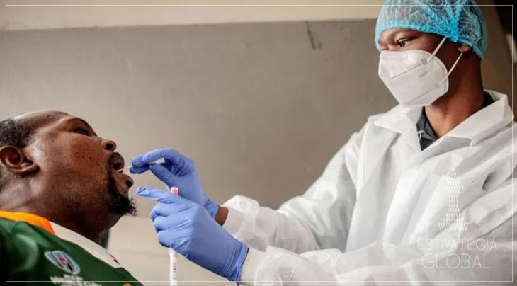 Identificam uma nova variante da covid-19,  responsável por até 90% dos novos casos na África do Sul