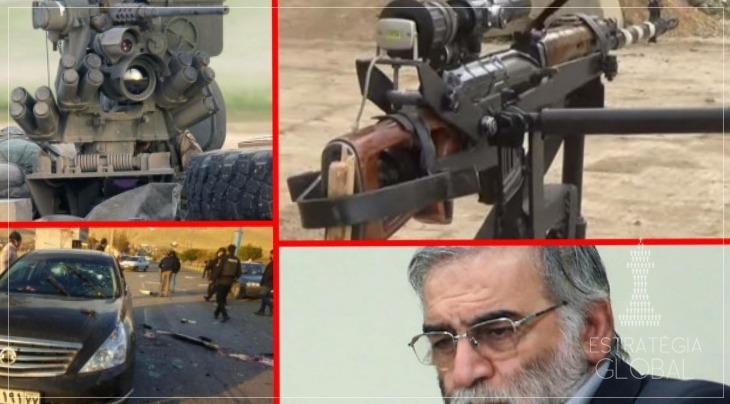 "Irã: ""metralhadora inteligente controlada por satélite"" matou cientista"