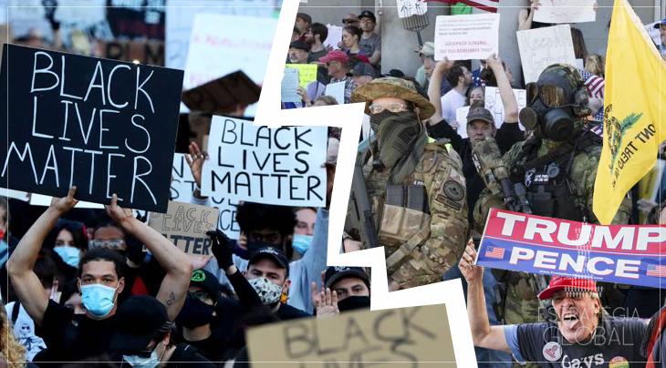 A guerra civil torna-se inevitável nos EUA