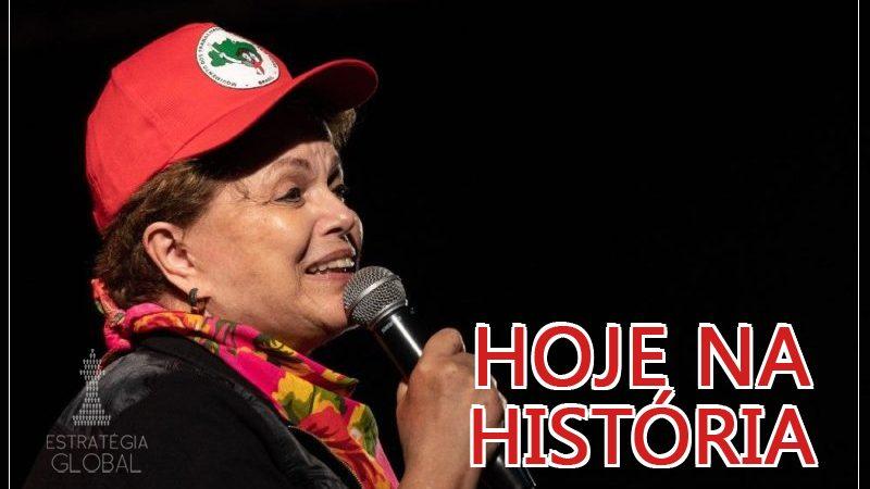Hoje na História: comemoramos o aniversário da presidenta Dilma!