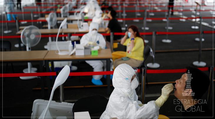 Havia surtos da Pandemia em todo o mundo, a China foi apenas a primeira a relatar