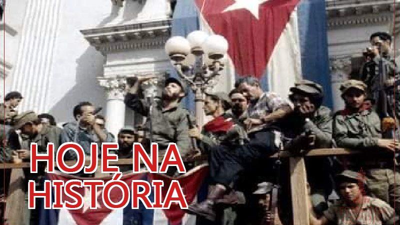 Hoje na história:  62º aniversário da Revolução Cubana