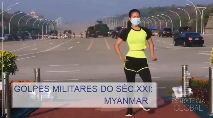 Golpes militares do século XXI: Myanmar