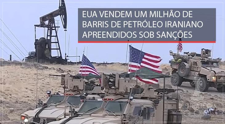 """EUA vendem um milhão de barris de petróleo iraniano apreendidos """"sob sanções"""""""