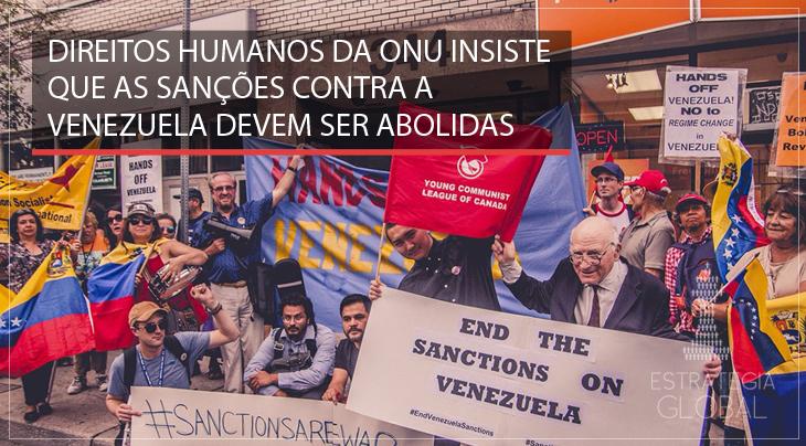Direitos Humanos da ONU insiste que as sanções contra a Venezuela devem ser abolidas