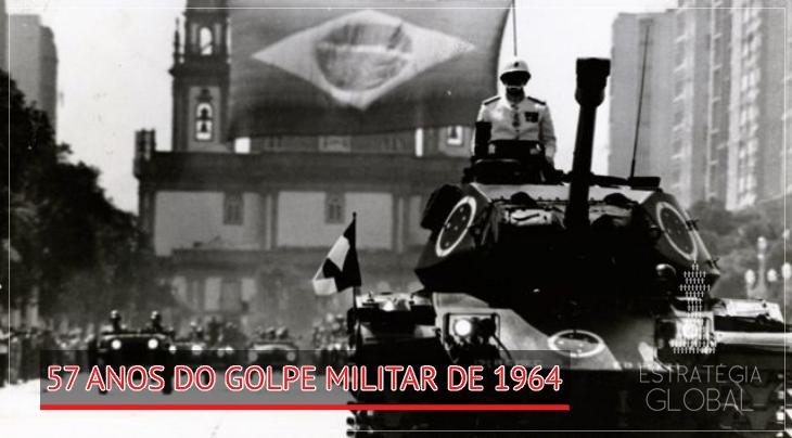 57 anos do Golpe Militar de 1964