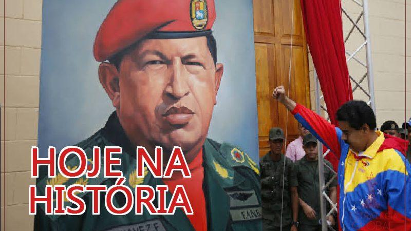 Hoje na história: o mundo perdia o ex-presidente venezuelano Hugo Chávez