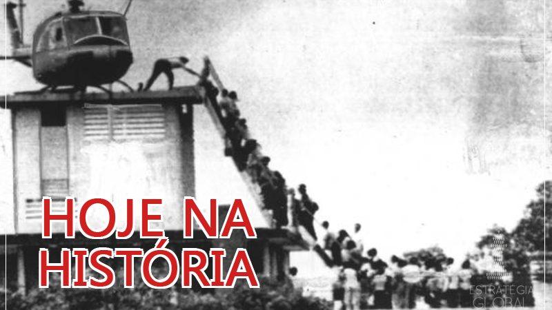 Hoje na História: EUA se retiram do Vietnã