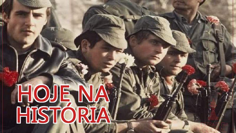 Hoje na história: A Revolução antifascista em Portugal