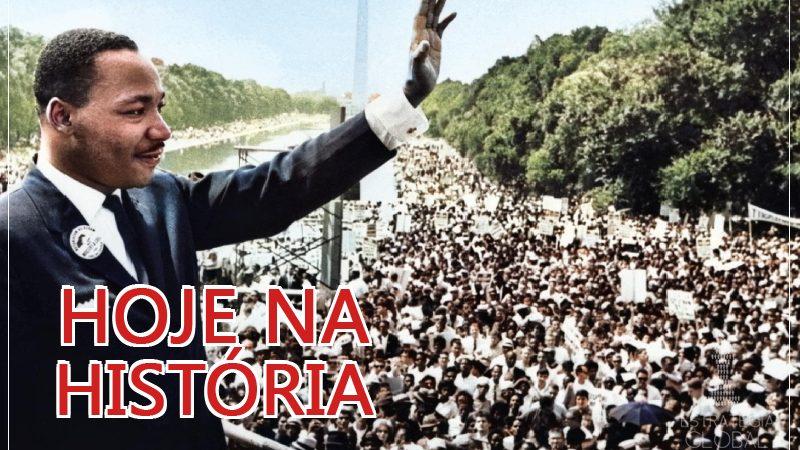 Hoje na História: Neste dia, em 1968, Martin Luther King foi assassinado